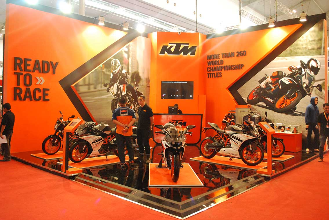Project KTM BOOTH – GIIAS 1