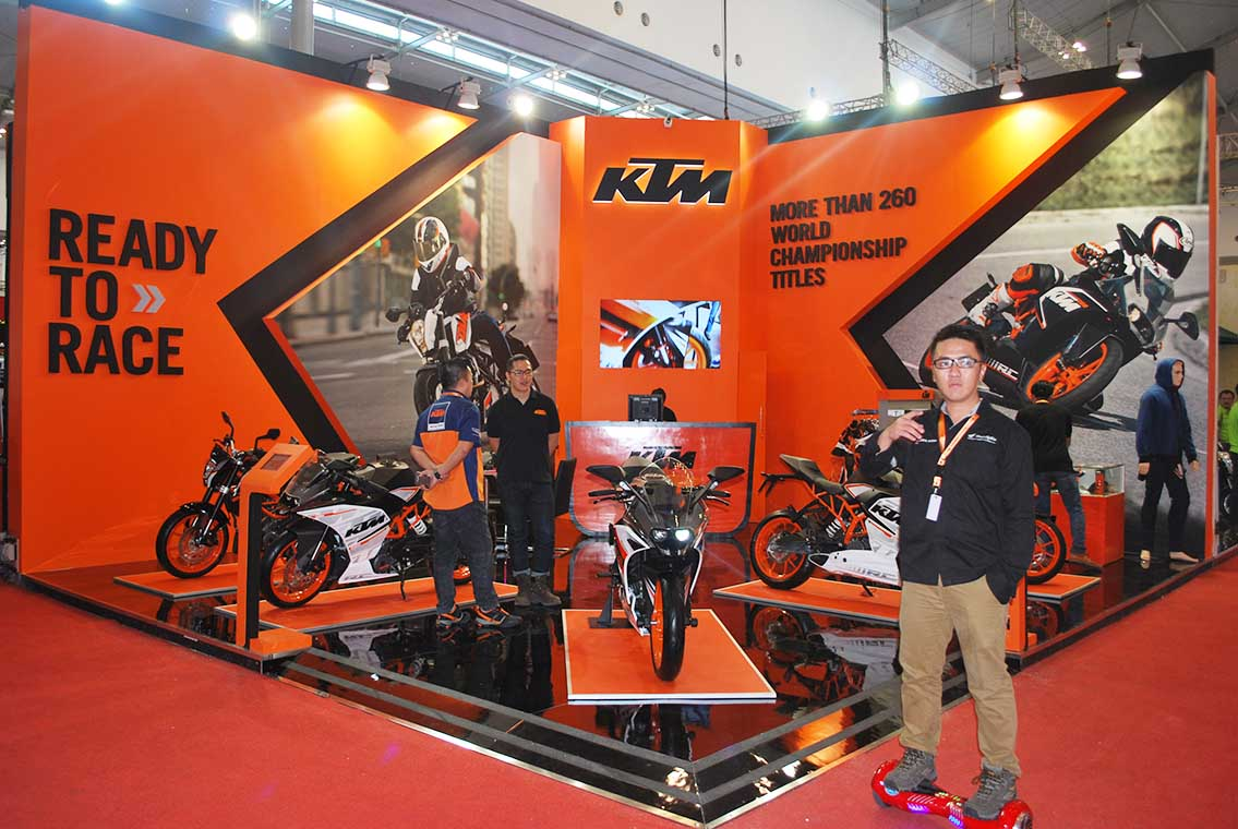 Project KTM BOOTH – GIIAS 2