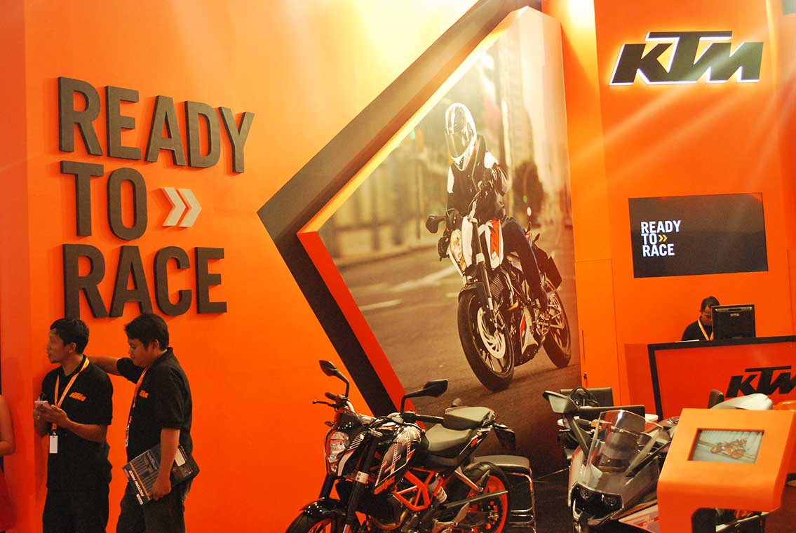Project KTM BOOTH – GIIAS 3