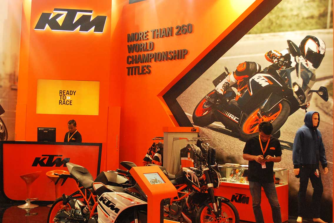 Project KTM BOOTH – GIIAS 4